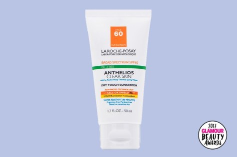 beauty-awards-LaRoche-Posay-Anthelios-60-Clear-Skin-Dry-Touch-Sunscreen